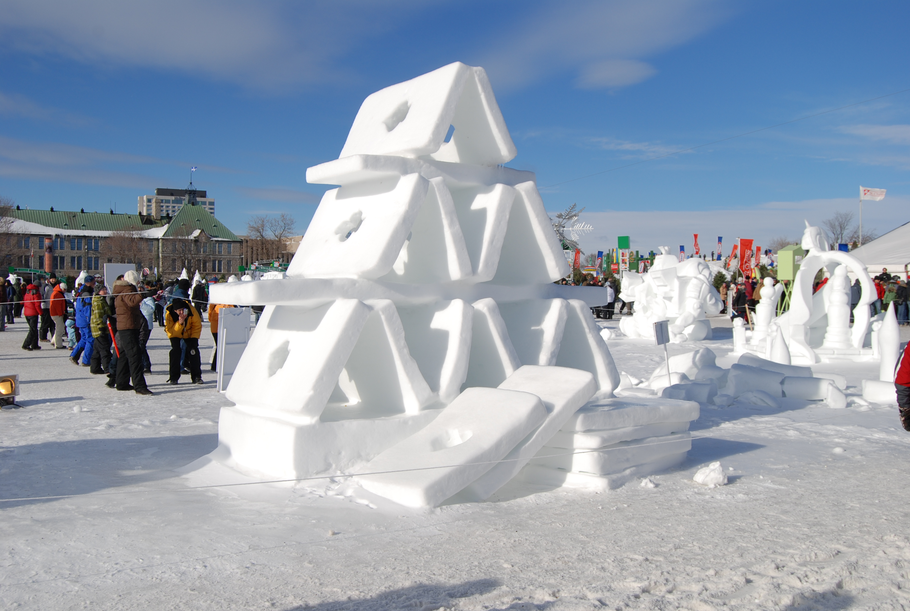 Winter Carnival Of Quebec City Starts On January Th - Quebec winter carnival