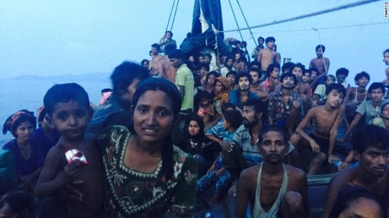 Rohingya migrants entry refuses by Thailand government