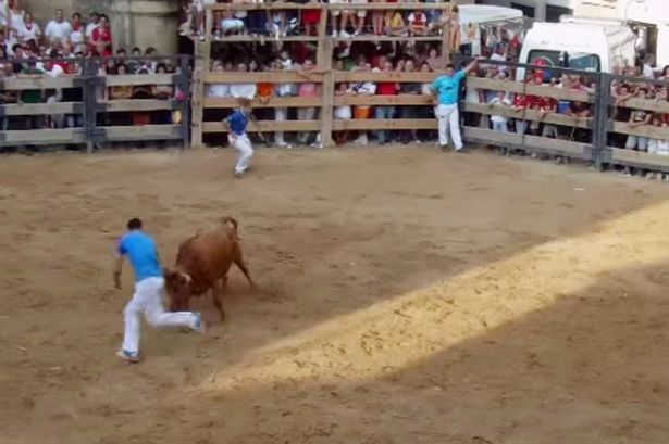 Bullfighter gored to death during a summer festival in Spain
