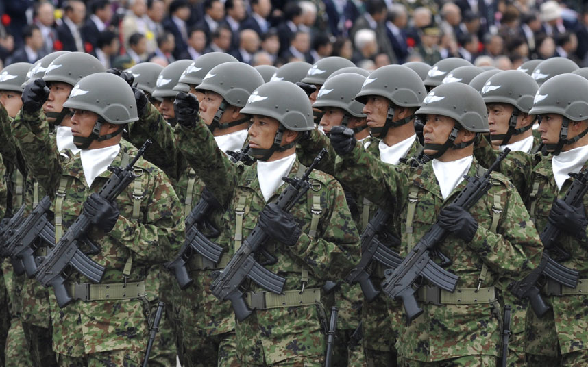 Japan wants a defense budget hike to fortify island chain facing China