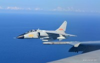 Russia and China perform joint military drill