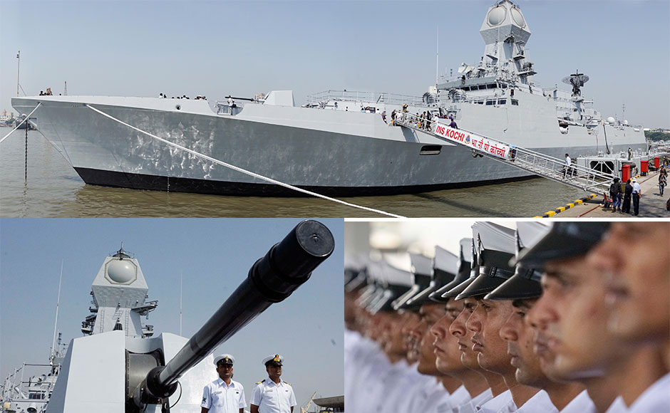 Latest stealth warship INS Cochi commissioned