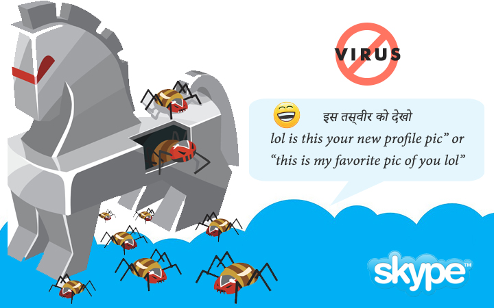 How to Recover from Skype Virus Attack ?