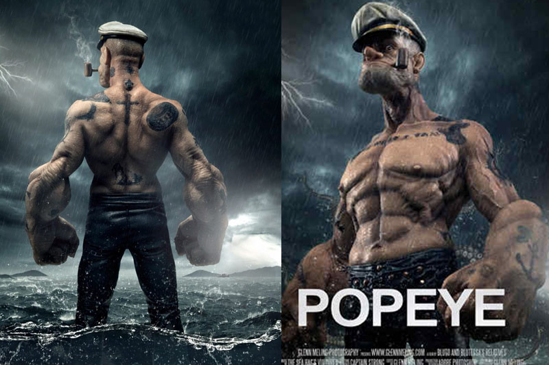 popeye is a 3d animation movie