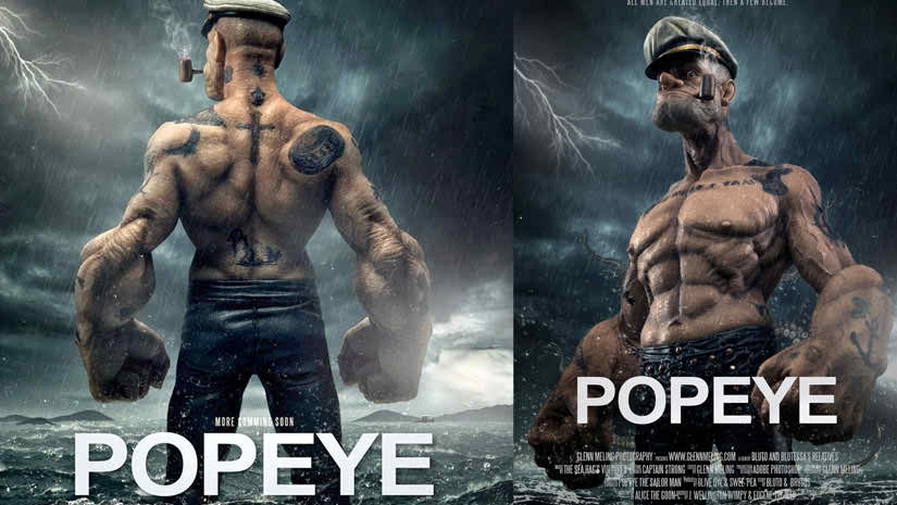 popeye is a 3d animation movie media4newscom